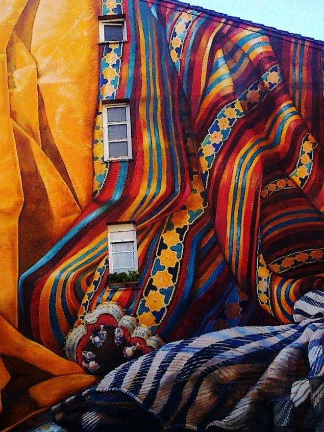 What are the causes, and effects of street art?
