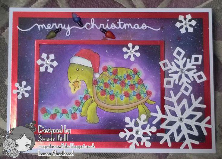 Designed by Sarah Bell for Lemon Shortbread using Christmas Tortoise