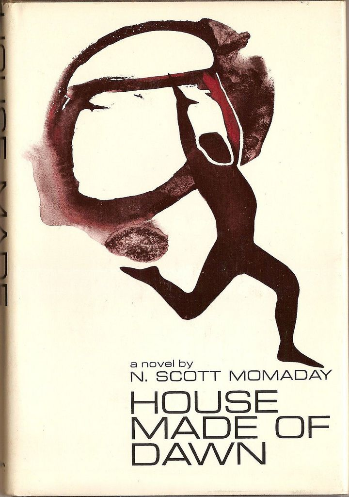 N. Scott Momaday: House made of dawn. Published by Harper & Row, 1968. Jacket design by David McIntosh.