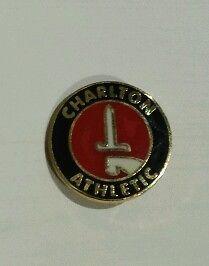 Charlton-Athletic-Football-Club-Pin-Badge-METAL-FREE-P-P