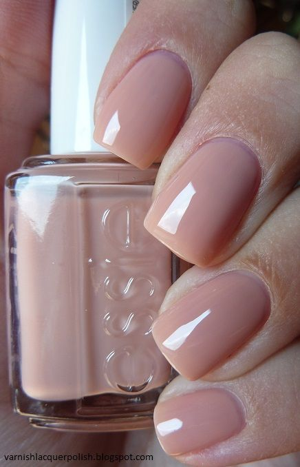 ESSIE Nail Polish - 'Not Just A Pretty' face (nude/beige) -Shiny and natural