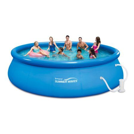 Play Day 16 Quick Set Ring Pool Blue Pinterest Summer Waves