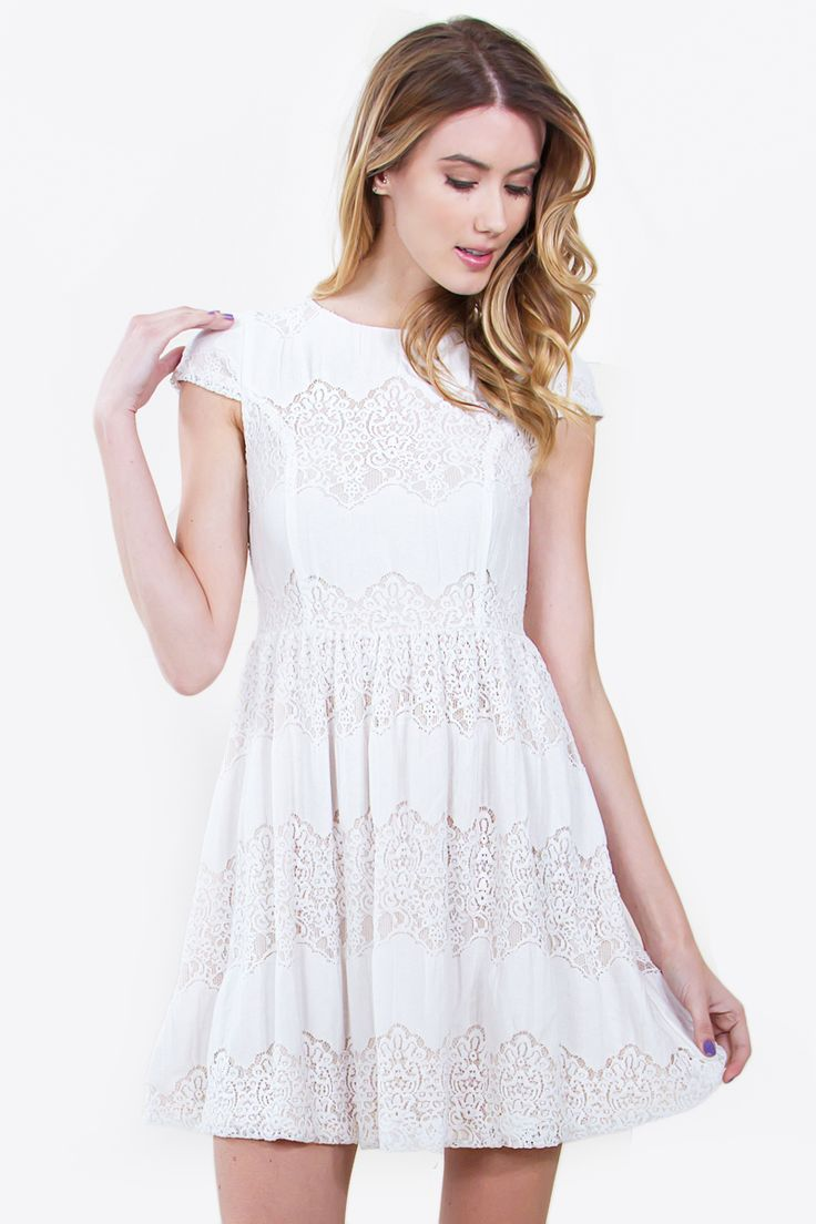 Romantic White Dress  Romantic White Dresses  Pinterest  Sweet ...