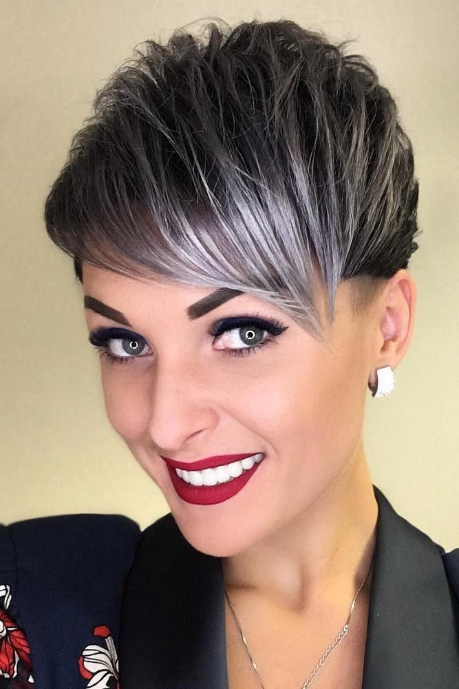 453e4429 53 Short Hairstyles for Women 2019 That You Can Master | Hair Styles |  Funky short hair, Pixie haircut, Short hairstyles for women