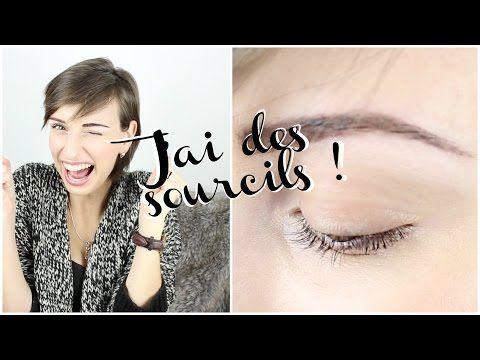 L'ATELIER DU SOURCIL : J'ai ENFIN des sourcils ! ( pigmentation ) - YouTube