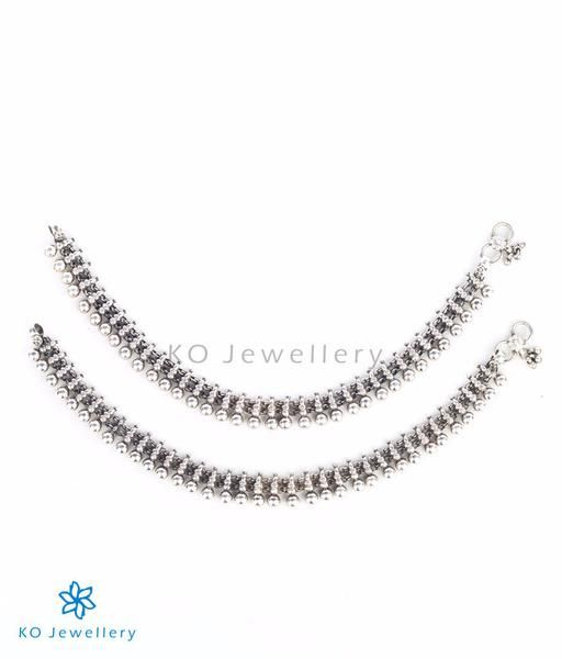 The Ira Silver Anklets #silver #anklets #online #shopping
