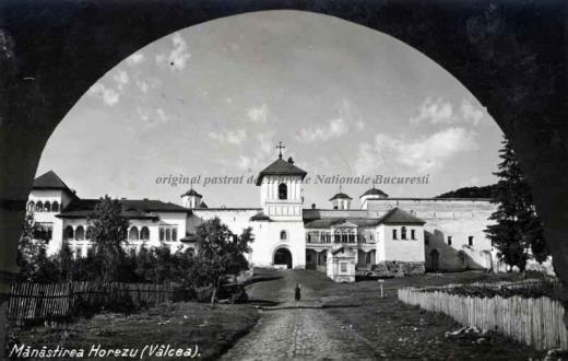 BU-F-01073-5-00354 Mănăstirea Horezu din judeţul Vâlcea, -1938 (niv.Document)
