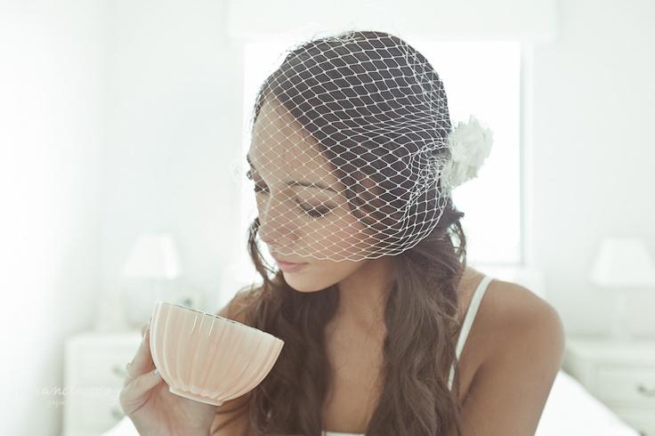 Amanda May - Bird Cage Veil, Dear Darling Flower