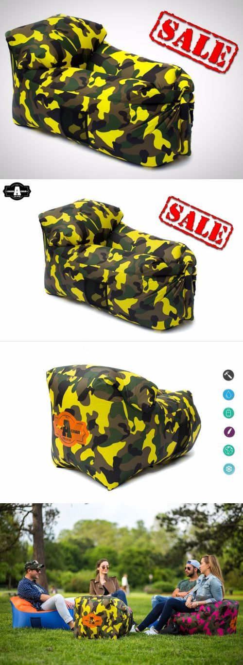Bean Bags and Inflatables 48319: Outdoor Inflatable Lounger Air Sofa Chair Travel Beach Swimming Pool Garden New -> BUY IT NOW ONLY: $32.97 on eBay!