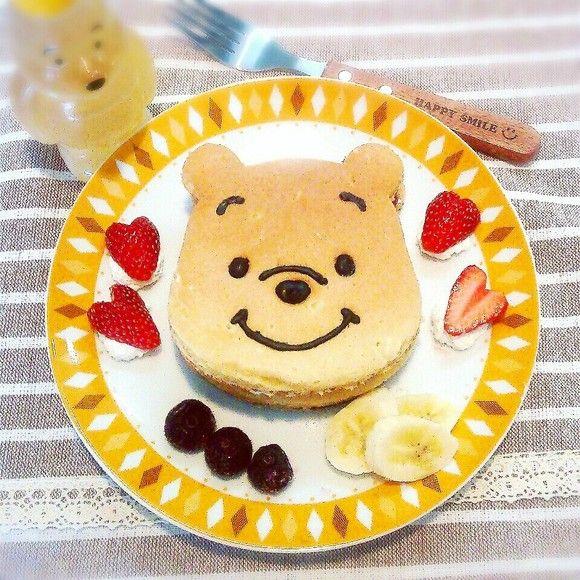 Strawberry pancakes ~ Pooh