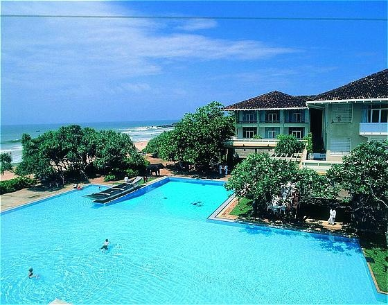 Triton Hotel. Ahungalla- Sri Lanka.154 tastefully decorated rooms. The hotel boasts of 5 bars and two sprawling swimming pools as well as a fully equipped gymnasium - Guests are also afforded the luxury of pampering themselves at the international Spa chain - the Six Senses Spa.