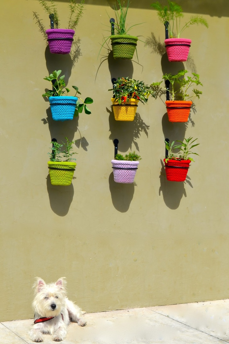 Casa da Dona Santa: Horta vertical