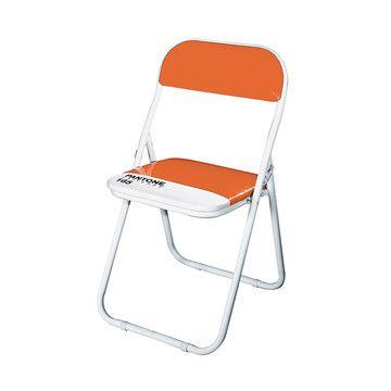 PANTONE® Chair OrangePantone Colors, Chairs Orange, Luscious Orange, Pantone Chairs Seletti, Pantone Folding, Orange Pantone, Fab, Folding Chairs, Fun Folding