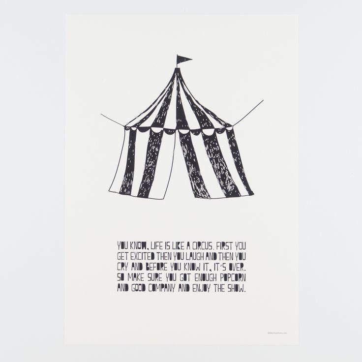 Circus Poster Tent / Muumuru
