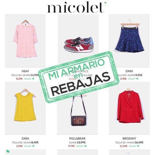 Morning! Rebajas (de las majas que cunden) en mi armario de @micoletweb  Os dejo link directo en la bio ᖴEᒪIᘔ ᗰᗩᖇTEᔕ!!!     #miarmario #moda #look #cool #sales #micolet #fashionsales #fashion #style #correquevuelan #outfit #instafashion #verano #rebajas #iloberebajas http://bit.ly/2tEygYO