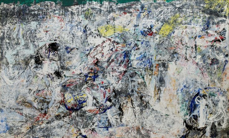 'Stalingrad' is considered to be one of Denmark's artistic masterpieces. (Photo: Museum Jorn/National Museum of Denmark)  Asger Jorn