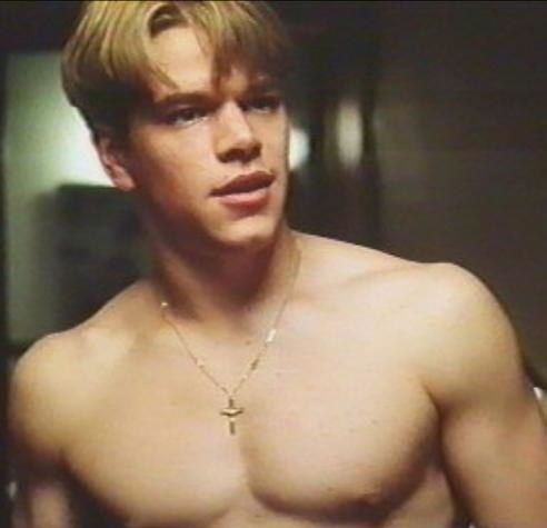 matt damon, yes this ones much better, that's a good Will