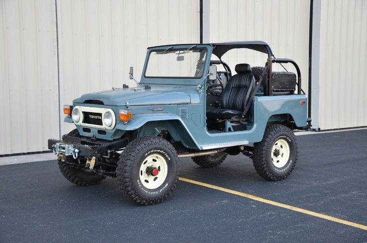 1978 Toyota Land Cruiser -- if your kidneys are unusually bruise resistant, then this is the car for you.  Perfect condition, only 40K.