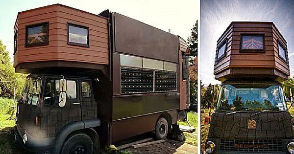 Je zal denken dat dit een oude truck is: Maar kijk hoe het binnen enkele seconden transformeert