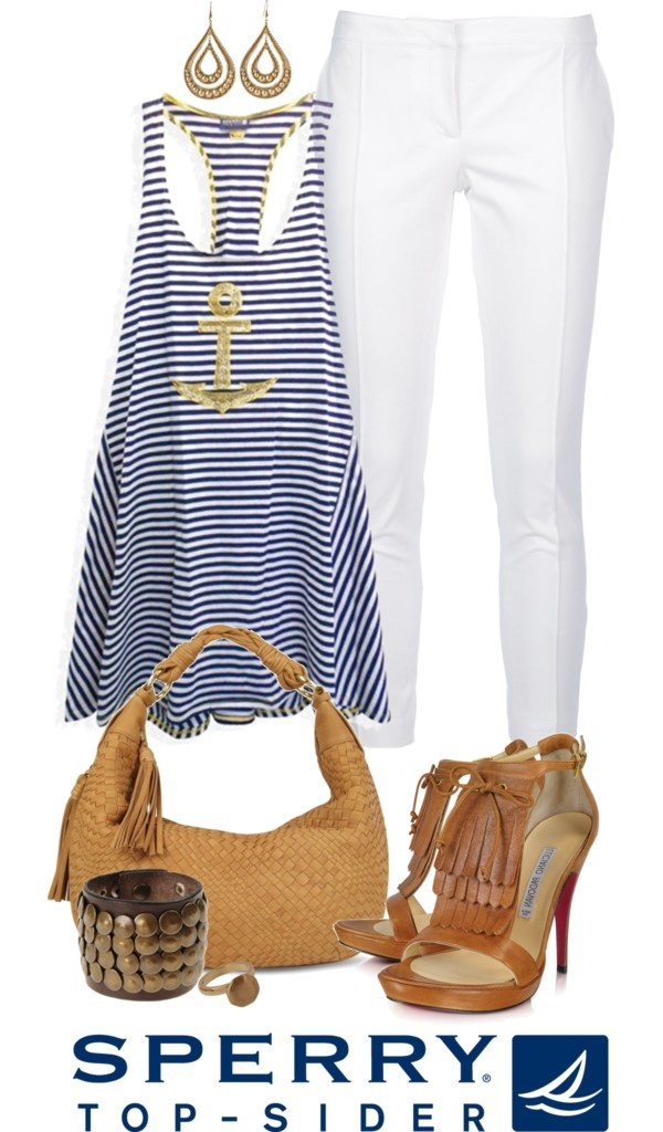"""Pack for Vacationland with Sperry Top-Sider"" by angela-windsor on Polyvore"