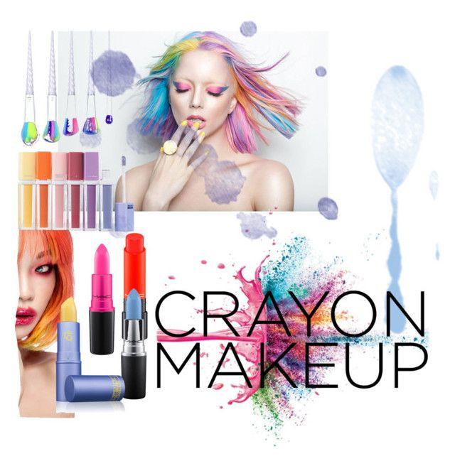 """💋"" by bukalemunn on Polyvore featuring güzellik, MAC Cosmetics, Givenchy ve Lipstick Queen"