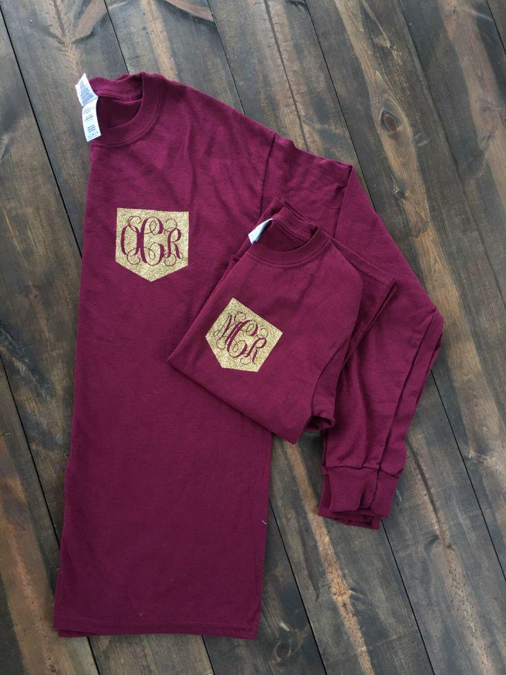Womens monogram shirt, Monogram shirt, Pocket monogram shirt by InfinityDesignsShop on Etsy https://www.etsy.com/listing/470651910/womens-monogram-shirt-monogram-shirt