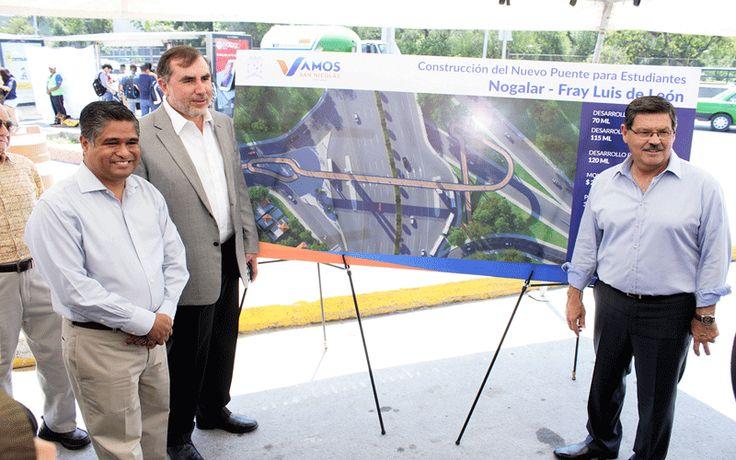 Arrancan construcción de nuevo puente frente a la UANL « Mty ID Magazine