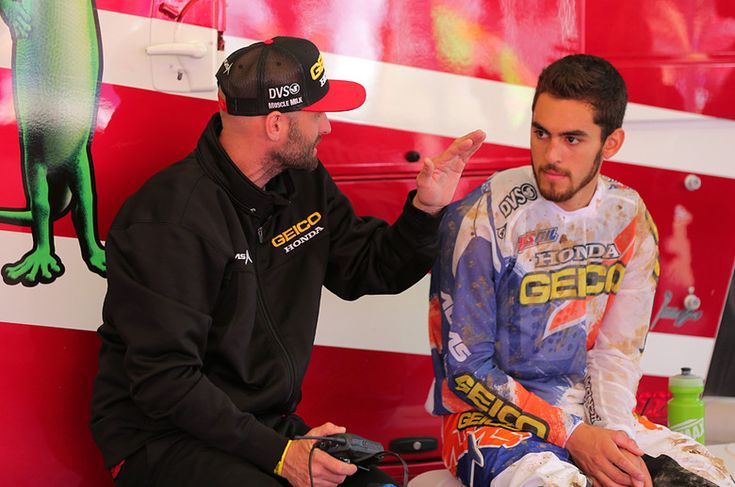 Kibby and Justin Bogle - Vital MX Pit Bits: High Point - Motocross Pictures - Vital MX