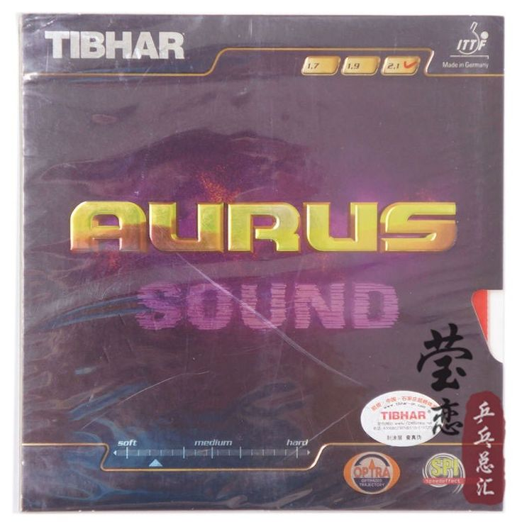 Original Tibhar Aurus Sound pimples in table tennis rubber table tennis rackets racquet sports fast attack loop made in germany