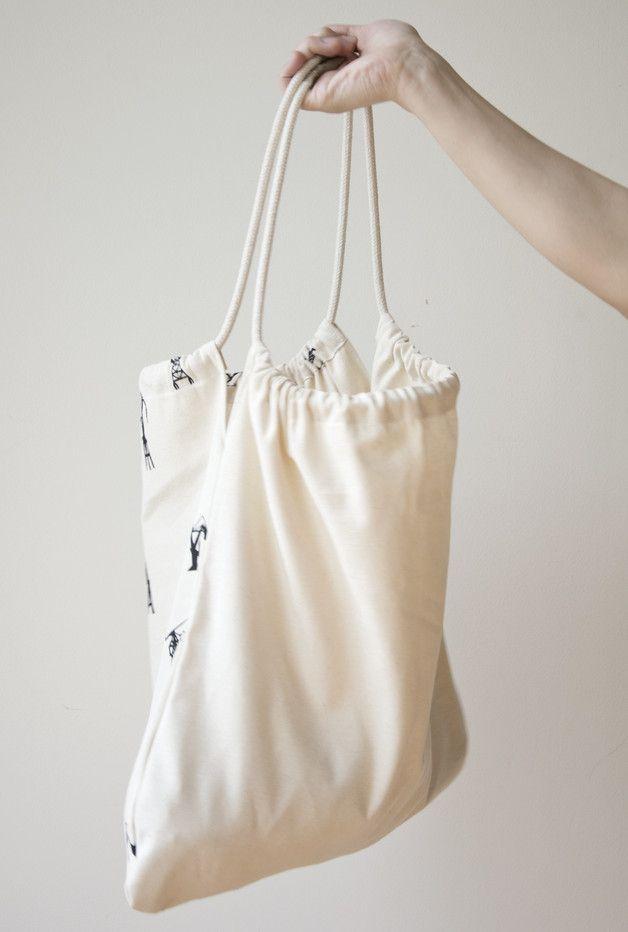 TOTE BAG 100% cotton 240g handmade, silkscreen, tote bag, cranes, inspired by Gdańsk shipyard, graphic print, black and white