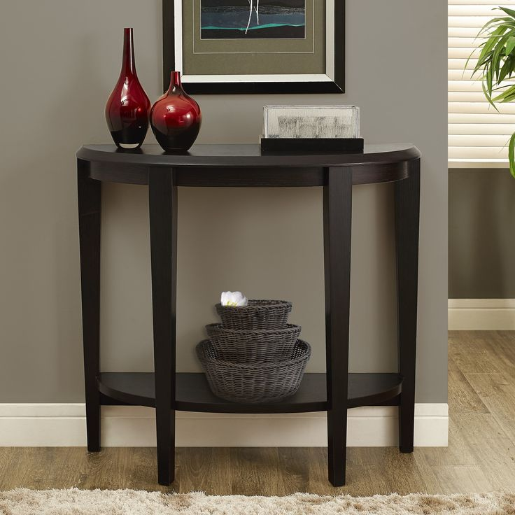 Monarch Specialties Inc. Half Moon Console Table | AllModern