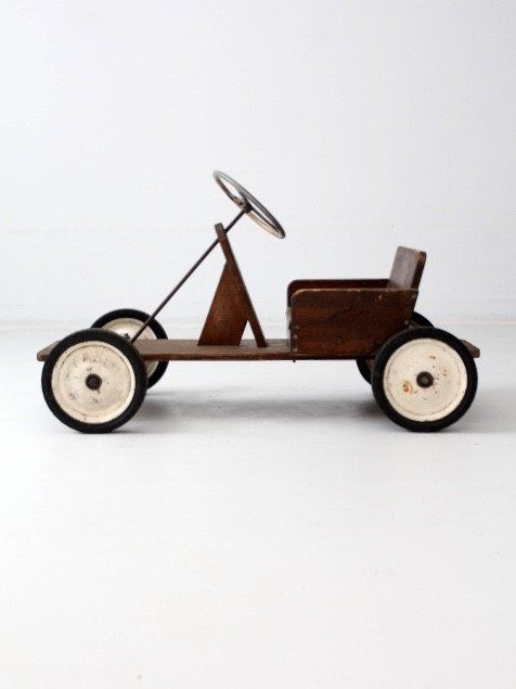 Vintage toy riding car | A first collection | Pinterest | Vintage ...