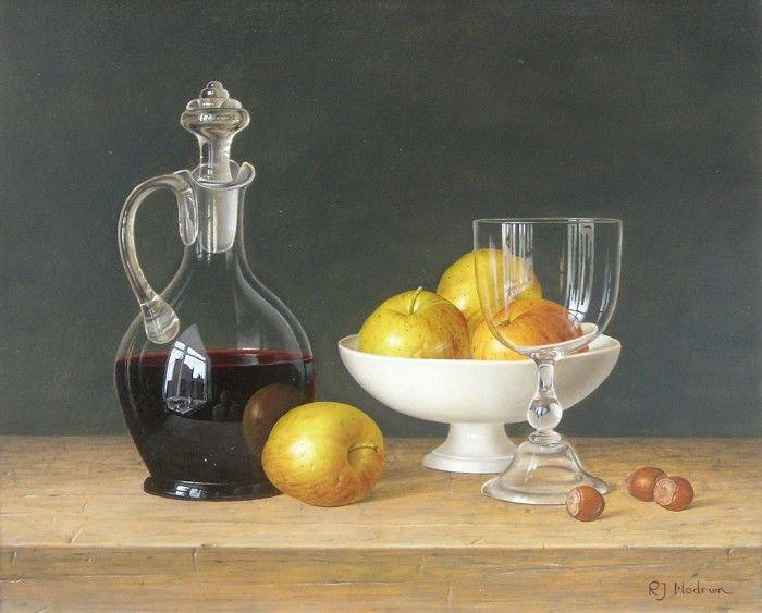 натюрморты художника Roy Hodrien -02