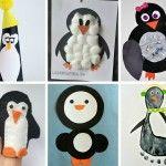 25 Penguin Crafts & Activities for Kids