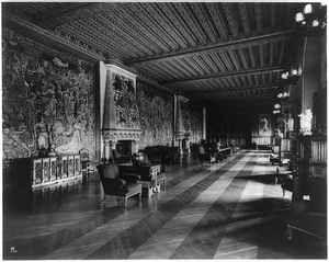 Tapestry Gallery Biltmore House Vanderbilt Estate Asheville Buncombe CO NC 1930 | eBay