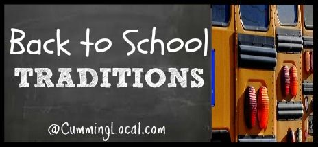 Back to School Traditions - Cumming Local | Things To Do in Cumming, GA & Forsyth County