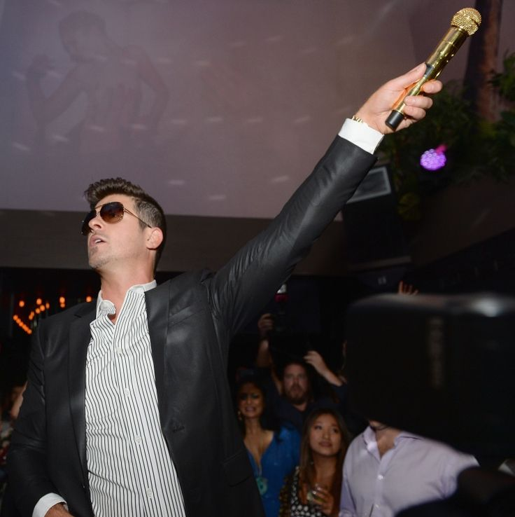 Robin Thicke | GRAMMY.com: Favorite Things, Student, Robin Thicke, Photo