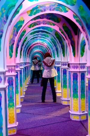 SF, Magowan's Infinate Mirror Maze, Pier 39 at the Wharf
