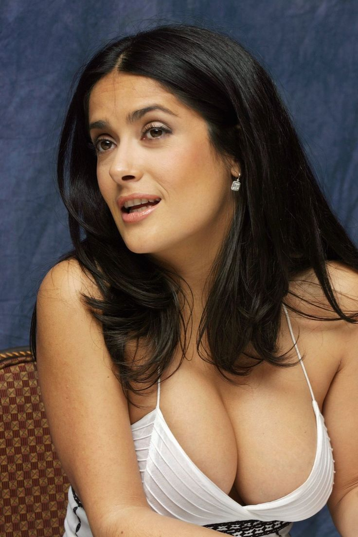 Beauty is... balancing too much and too little. Salma Hayek