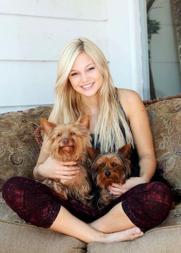 AWW! #Olivians, you'll never guess what @olivia_holt just revealed about her adorable puppies! Find out HERE: bit.ly/1pm8QDt