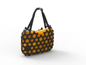 This trendy tote bag forms part of the Award Winning Korol home décor range. Supplied with interchangeable lining. Buy it from Wave2Africa - an online gift and decor boutique.