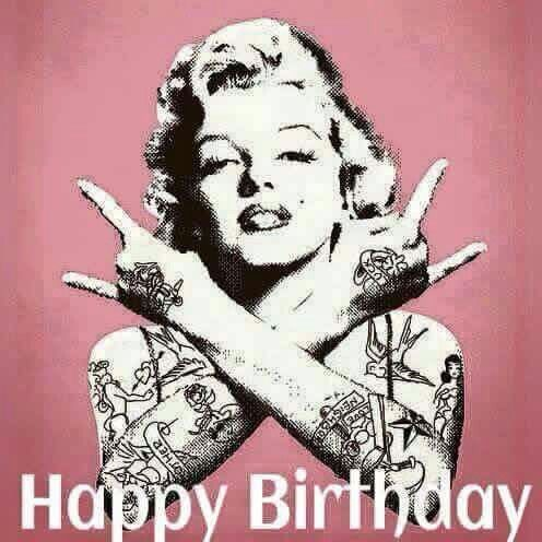 Marilyn M. Happy Birthday Rock                                                                                                                                                                                 Más