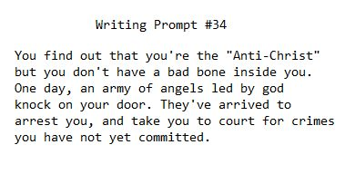 """The Anti-Christ"" Writing Prompt #34"