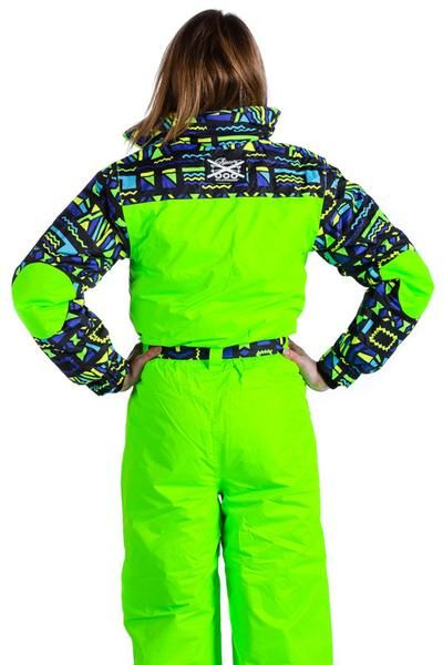 a56d41614cc The Day-Glo 80s Style Neon Ski Suit - Shinesty