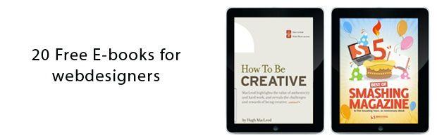 Free e-books for web designers