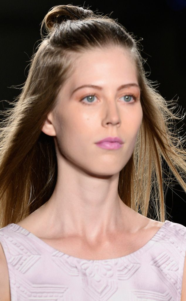 Lazy Girl Top Knot from Hair Trends We Love From New York Fashion Week Spring 2016