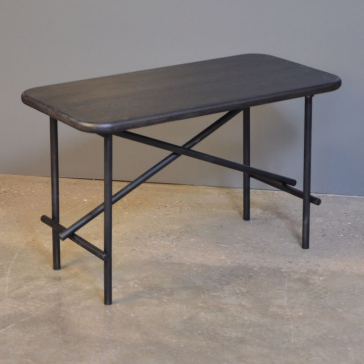 Tap/5 coffee table - new table from the YLE collection by Peter Boy Design #coffeetable  #newdanishdesign #black