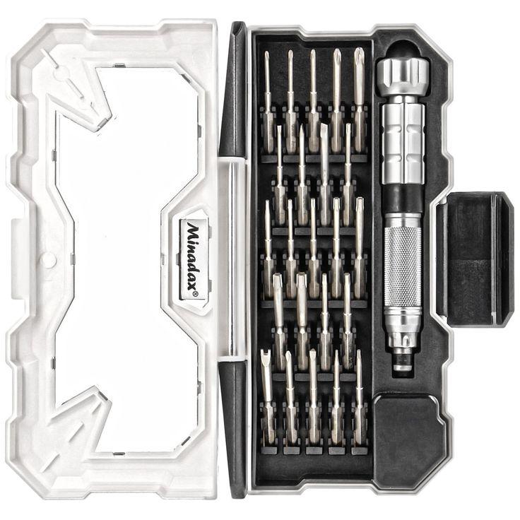 Minadax® Hochwertig Gehaertet 24-teile Schraubendreher Feinmechaniker Werkzeug Set Chrom-Vanadium - besonders belastbar inkl. Aufbewahrungsbox: Amazon.de: Baumarkt