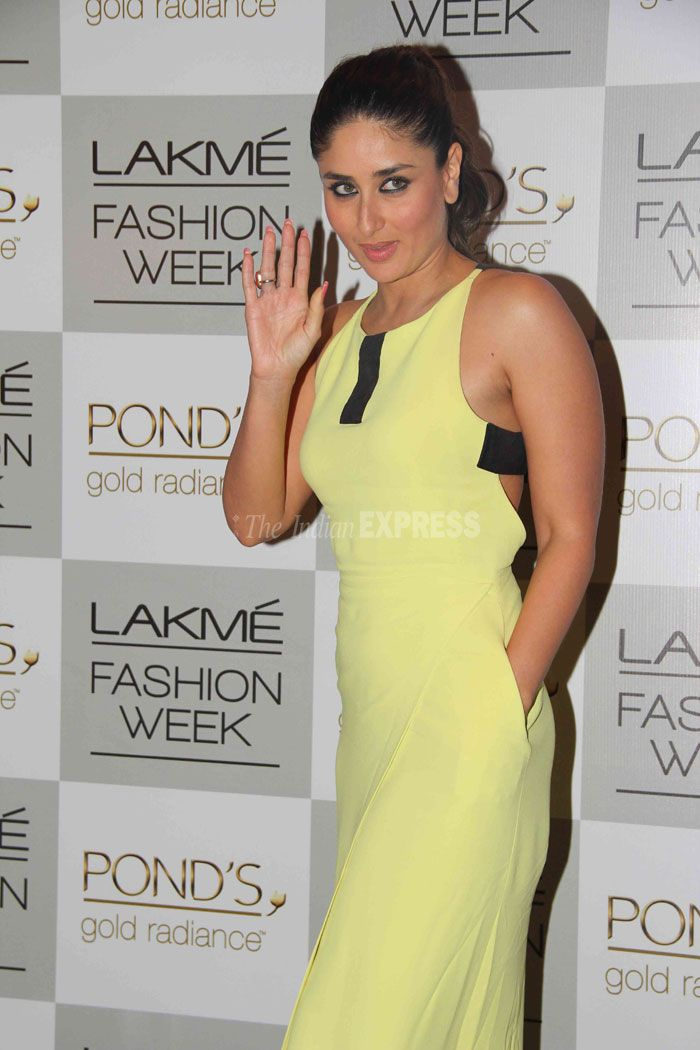 From Size Zero to a Real Woman | Kareena Kapoor at Lakme Fashion Week, Winter/Festive 2013 (IE Photo: Varinder Chawla)