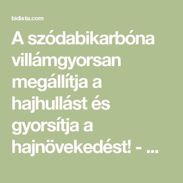 A szódabikarbóna villámgyorsan megállítja a hajhullást és gyorsítja a hajnövekedést! - Bidista.com - A TippLista!